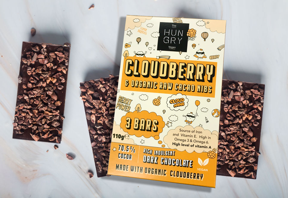 Cloudberry & Raw Cacao Nibs